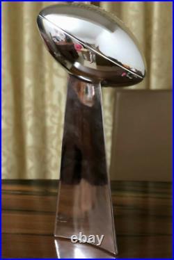 11 Full Size Super Bowl Vince Lombardi Trophy Replica CUSTOM ANY TEAM YEAR