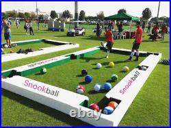 16pcs Full Set Snooker Footpool Ball Soccer Toy Billiards Team Football