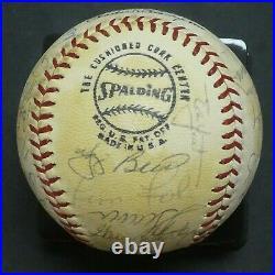 1971 New York Mets Team Signed Baseball with Full JSA Letter