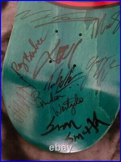 2020 Full Team Signed Element Skateboard 18 Total Autograph Deck Nyjah Appleyard