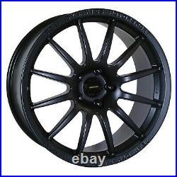 4 x Team Dynamics 1.2 17x9 alloy wheels 5x114.3 FULL RARE SET