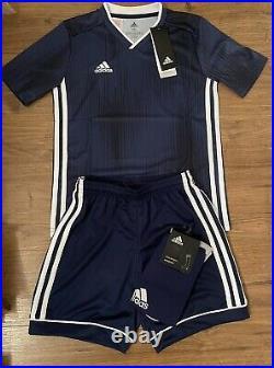Adidas Kids Tiro Full Team Football Training Kit Dark Blue 8,9 Years Size YS
