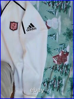 Adidas TEAM USA World Cup of Hockey 2016 ZNE Full-Zip Hoodie (XXL) BNWT RARE
