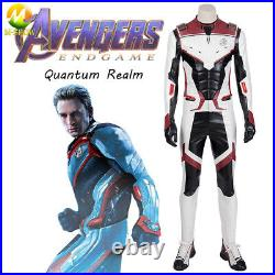Avengers Endgame Cosplay Costume Team Uniform Quantum Space Time Travel Suits