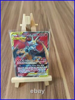 Charizard & Braixen Gx Tag Team Full Art Ultra 212/236 Cosmic Eclipse New