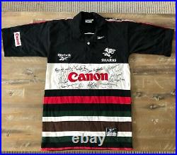 Coastal Sharks Rugby Union SIGNED Jersey by FULL 1999-2000 Squad (AUTHENTIC)