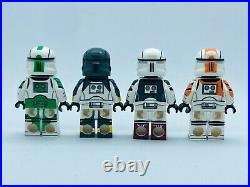 Custom LEGO Star Wars Commando Squad Pack Full Minifigure UV Printed