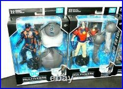 DC Multiverse Suicide Squad King Shark Full Set Quinn Peacemaker Dot Bloodsport