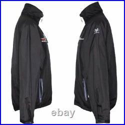 Emirates Team New Zealand Jacket Medium Full Zip Americas Cup Sailing TNZ Black