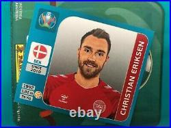 Euro 2020 Tournament Edition Panini Stickers Full Album Complete unstick new