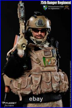FLAGSET 75th anger Regiment Reconnaissance Team in Afghanistan Full Set 1/6 Doll