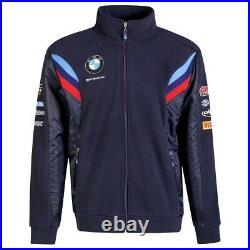 FLEECE JACKET BMW Motorrad WSBK World Superbike Team Bike Full Zip NEW