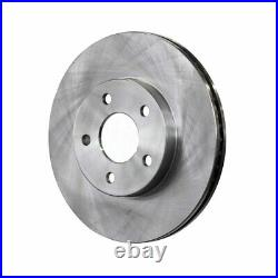 Front Hub Bearing Assembly Disc Brake Rotor And Pads Chevrolet Cobalt Pontiac G5