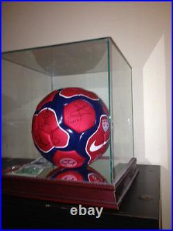 Full 2003 Barcelona soccer (football)Team signatures / autograph on soccer ball