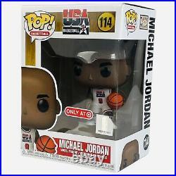 Funko Pop USA Basketball DREAM TEAM Jordan Bird Magic Target Exclusive Full Set
