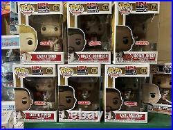 Funko Pop! USA Basketball Dream Team Full Set Lot Of 6 Michael Jordan Pippen NBA