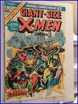 GIANT-SIZE X-MEN #1 (1975) 1ST NEW TEAM 2ND FULL WOLVERINE Signed LEN WEIN