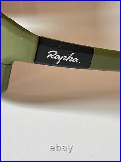 Genuine Rapha PRO TEAM FULL FRAME GLASSES GREEN (MMC) FRAME (MADE IN ITALY)