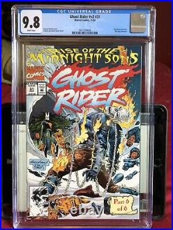 Ghost Rider #31 CGC 9.8 First Full Appearance Of The Midnight Sons Team 1st App