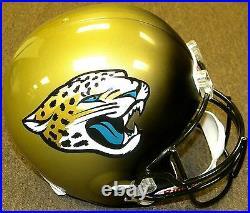 Jacksonville Jaguars NFL Team Logo Riddell Deluxe Full Size Football Helmet
