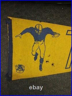 L@@K AFL New York Titans Vintage Defunct Circa 1960 Team Logo Full Size Pennant