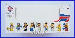 Lego Minifigures Team GB 8909 Full Box Of 60 Sealed Minifigures / Very Rare