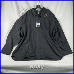 Los Angeles Rams Nike Salute to Service Team Issue Sideline Full Zip Jacket 3XL