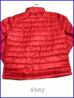 Marmot Men's Azos 700 Fill Down Full Zip Puffer Jacket, Team Red, Size Large