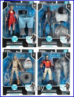 McFarlane DC Multiverse SUICIDE SQUAD KING SHARK BAF Full Set IN STOCK