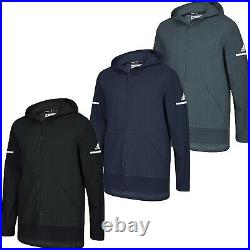 Men Adidas Squad Jacket Warm Up Hooded Full Zip Jacket Adidas Team Hoodie NEW