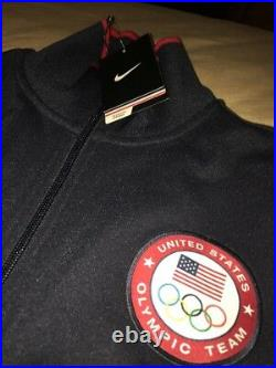 Mens Nike USA Olympic Team Full Zip Jacket