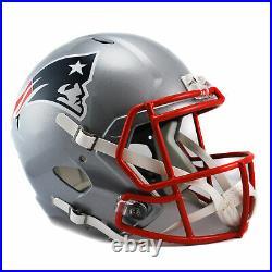 NFL New England Patriots Speed Authentic Full Size American Football Helmet