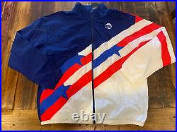NIKE MENS THROWBACK FULL ZIP TEAM USA BASKETBALL JACKET Size XL Tall CK6621 492