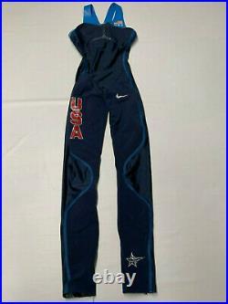 NIKE Olympic Team USA Full Body Swimskin Swimsuit XS speedsuit Rubber swimming
