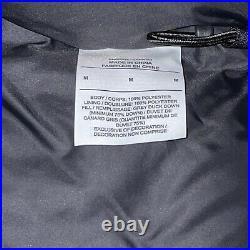New Nike NFL Team 550 Down Fill Hooded Parka Jacket AJ9103-010 Black Size Medium
