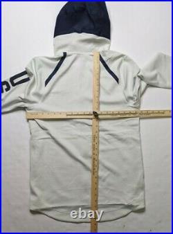 Nike Dri Mens White Team USA Full Zip Therma Flex Hoodie Jacket M AT4879-100