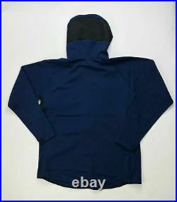 Nike Dry Villanova Team Showtime Full Zip Hoodie Men's Large CQ0306 Navy Blue