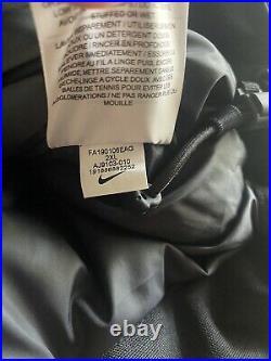 Nike NFL Team 550 Mens Size XXL Down Fill Hooded Parka Jacket Black AJ9103-010