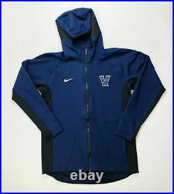 Nike Thermaflex Full Zip Showtime Hoodie Villanova Team Jacket Men's L CQ0311