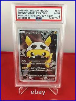 Pikachu Team Skull Full Art Promo PSA 9 Mint 54477042 Graded Pokemon Cards