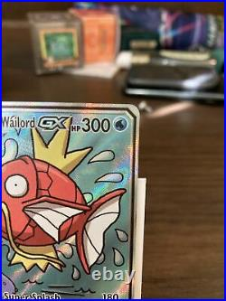 Pokemon TCG Magikarp & Wailord GX Tag Team Full Art Rare 161/181 Team Up