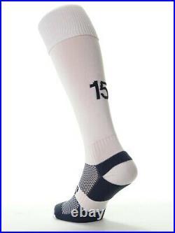 Puma Football Team Kits Men's Green & White Stripes #3 (S to XL) x 15 Full Sets