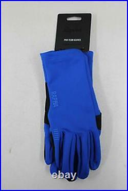 RAPHA Men's Blue Lightweight Full Finger Pro Team Cycling Gloves XL BNWT