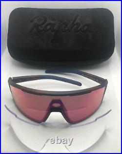 RAPHA pro team Full Frame Glasses Brown/navy-Performance Eyewear- Genuine -398