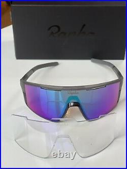 Rapha PRO TEAM FULL FRAME GLASSES Gray (MIA) Frame
