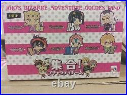 Rubber Mascot JoJo's Bizarre Adventure Golden Wind Bucciarati team 1BOX full set