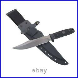 SOG SEAL Team Fixed Blade Knife Black Glass-Reinforced Nylon AUS-8 Steel S37-K