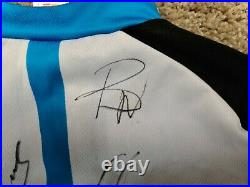 Sky, Adidas, Full Team Autographed Jersey-Froome, Wiggins, Thomas, Stannard