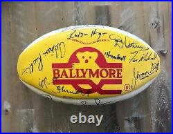 South African Springboks 1993 FULL Squad SIGNED Rugby Ball withStand (AUTHENTIC)