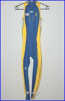 Speedo Fastskin FS II mens racing swimming Full Body suit Sweden National Team